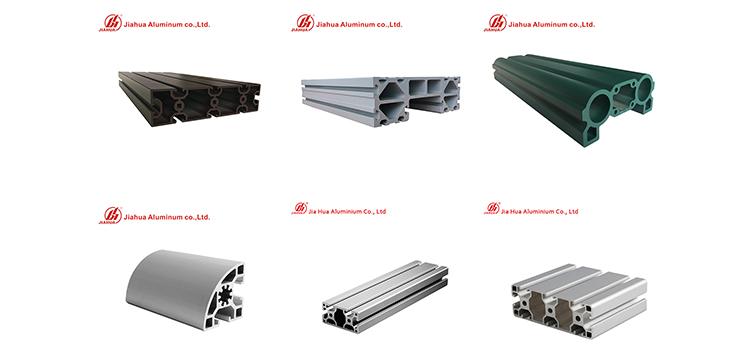 Perfiles de aluminio industrail de Jia Hua
