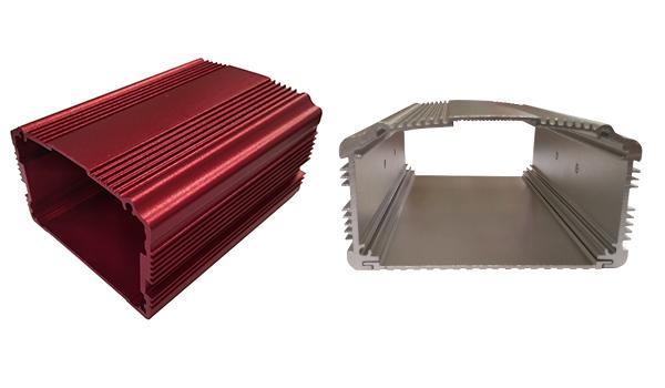 Perfiles de aluminio para caja de PCB